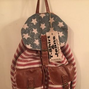 Handbags - NEW Adorable canvas backpack