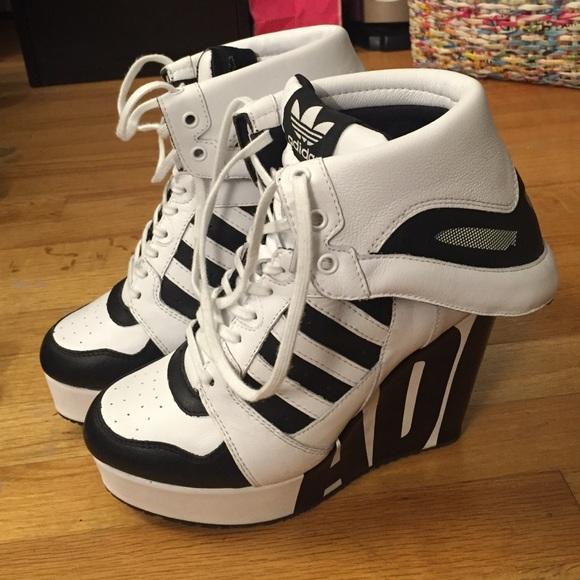 info for 7c149 eef6b Jeremy Scott x Adidas Shoes - Adidas Jeremy Scott wedge sneakers 8