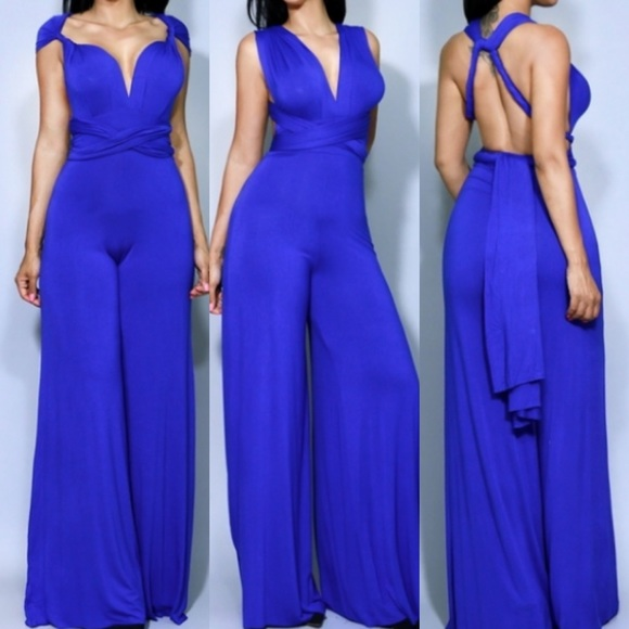Other - Blue Multi Way Jumpsuit