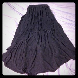 no boundaries gray high low skirt from s closet on