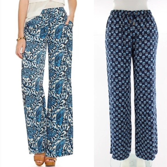 paisley print trousers - Blue Michael Michael Kors 2XpKZJ