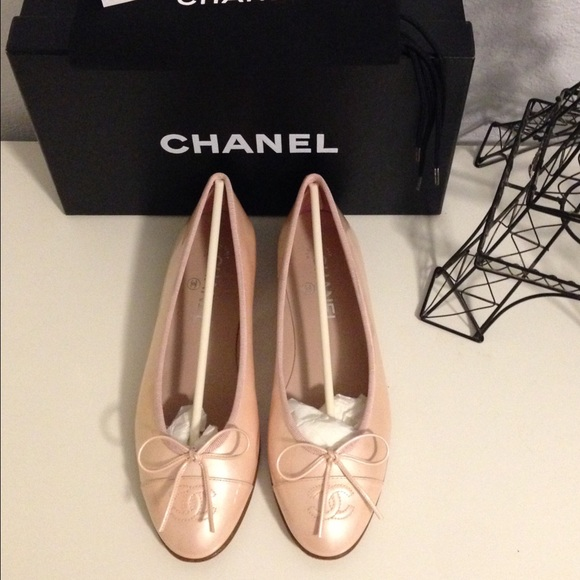 27 chanel shoes chanel light pink patent leather