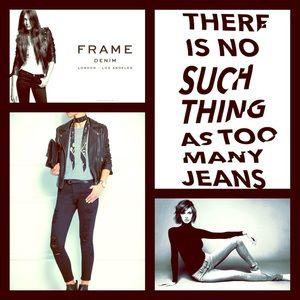 Frame Denim Denim - %Sale% Frame Le Skinny de Jeanne