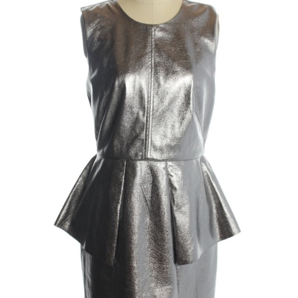 HM Faux Leather Dress