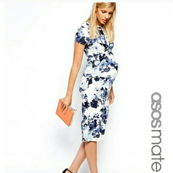 b016e5fb3d ASOS Dresses   Skirts - Asos maternity floral dress