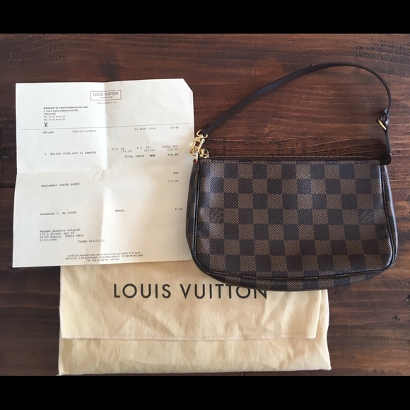 02758a1e86e1 Louis Vuitton Handbags - Price Reduced  100% LV Pochette Receipt Included