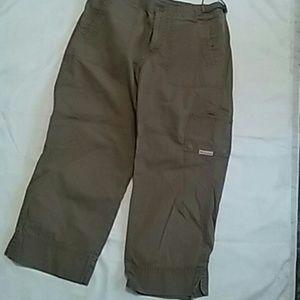 Columbia Cargo Khaki Pants Size Small