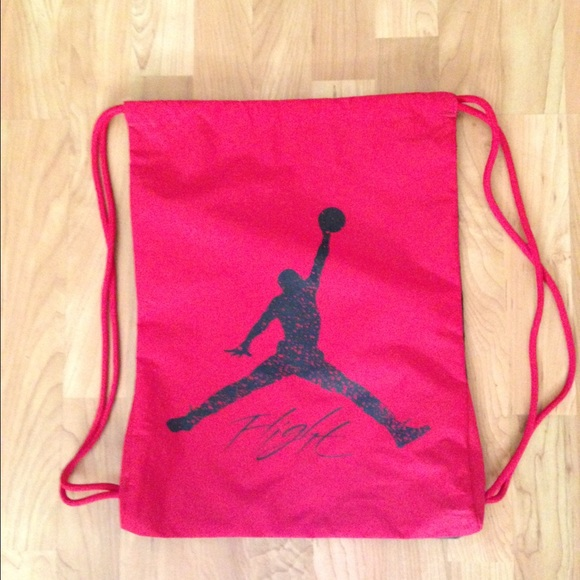 f2a3994e68e667 Jordan drawstring bag. 2 sided. M 562941a37f0a05d101006924