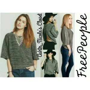 Free People Pullover W/Open Back!Perfect 4 Summer