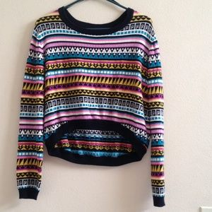 Divided crop sweater by H&M.