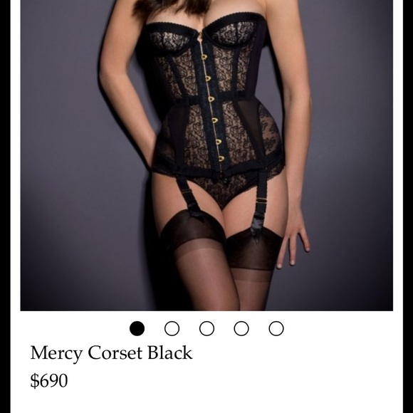 8498105d48 Agent provocateur Mercy Corset in size 2 last chan