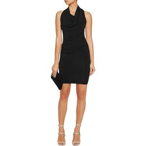 Helmut Lang Dresses & Skirts - [Helmut Lang]draped stretch-satin jersey dress