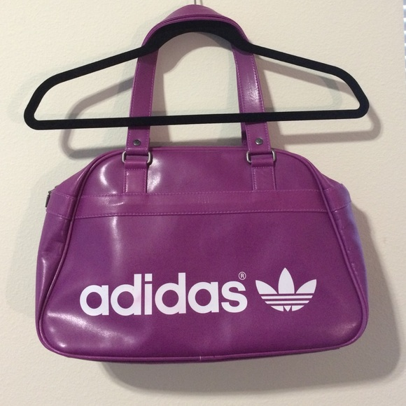 c7369ca478 Adidas Handbags - Adidas Neon Purple Women s Purse Bowling Bag