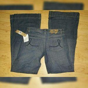 DKNY Denim - DKNY TROUSER/ WIDE LEGS  JEANS