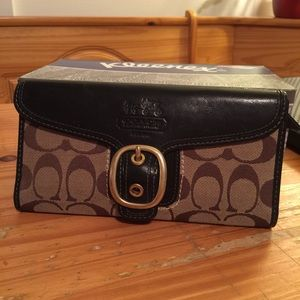 Coach Legacy Collection wallet