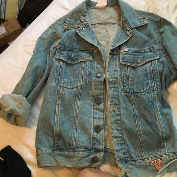 Guess By Marciano Jackets Coats Vintage Guess Jean Jacket Poshmark