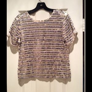 Gryphon Tops - Holiday Sparkle! Gryphon Size Small Sequin Top