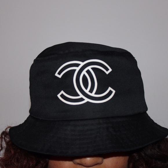 Kycvintage Other - Chanel Logo Bucket Hat 4af24cb94f5