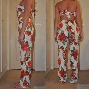 Forever 21 Pants - Forever 21 Floral Jumpsuit