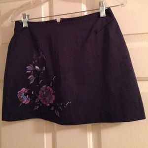 Dresses & Skirts - Gorgeous skirt with pink and lavender flower print