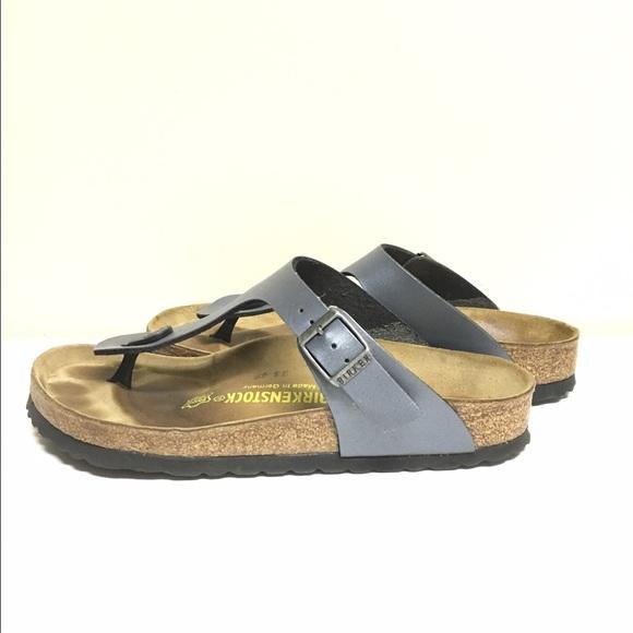 71c35bbb98f Birkenstock Shoes - Gizeh Birkenstock - Onyx