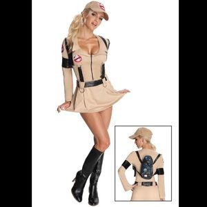 Dresses & Skirts - sexy ghostbuster halloween costume - plus size