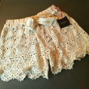 83 Off Cynthia Rowley Pants Cynthia Rowley Crochet