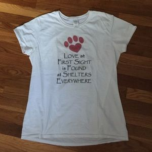 Tops - Dog rescue support t-shirt