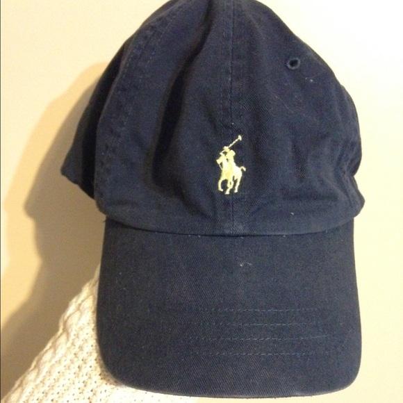 98681dd4a1fc navy blue polo hat. M 562a3a432ba50a03a900c970