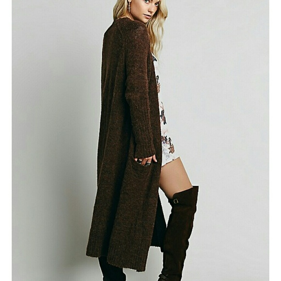 32% off Free People Sweaters - Free people maxi cardigan NWT from ...