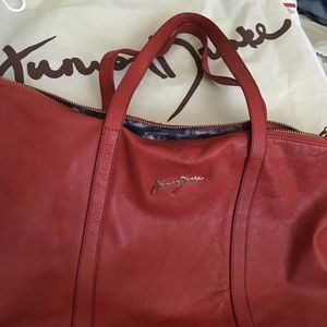 Leather Junior Drake handbag