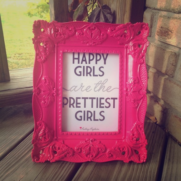 Hot Pink Baroque Picture Frame | Poshmark