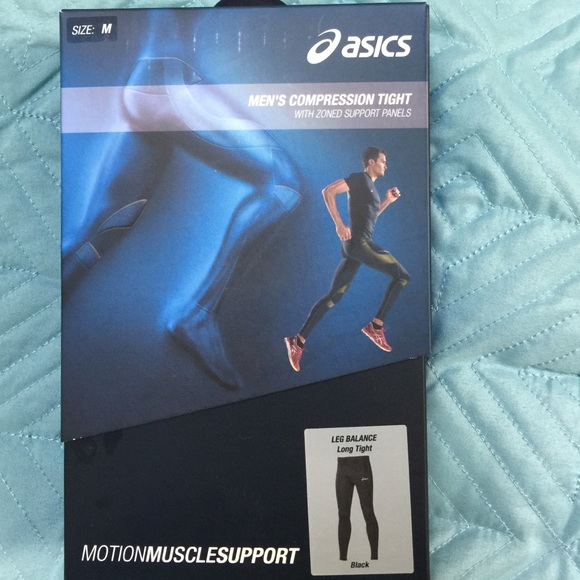 asics compression men