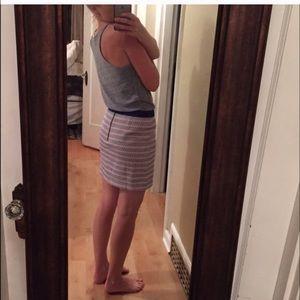 Gap orange and blue skirt