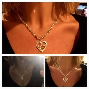 Guess Jewelry - NEW .925 Silver Guess Necklace & Bracelet Set