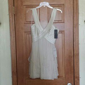 Silk flowing dress