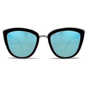 Quay Accessories - Quay My Girl sunglasses - Black/Blue mirror lense