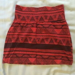 American Apparel mini skirt