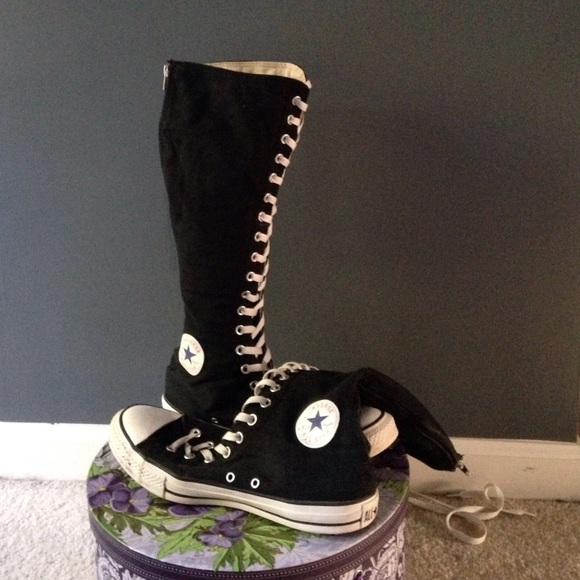 8cd2c05e7bfcbc Converse Shoes - Knee high Converse Chuck Taylor All Star XX
