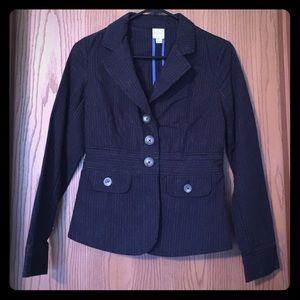 Navy pin stripe blazer size 2
