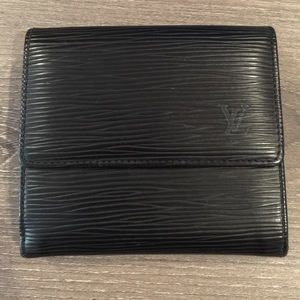 Black Epi Louis Vuitton Wallet