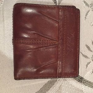 Coach Other - Coach Leather Small Wallet