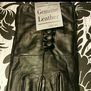 Women's High Quality Leather Gloves