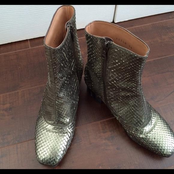 Dries Van Noten Snake Boots Host Pick