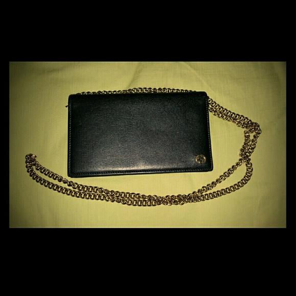 fd1c50585f7b Gucci Bags | Betty Chain Wallet Black | Poshmark