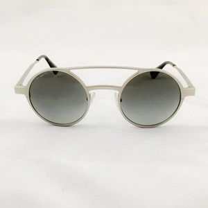 NEW Prada Round Double Bridge Matte Sunglasses