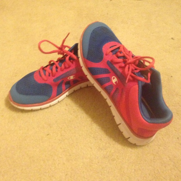 Running Shoes Blue And Pink | Poshmark