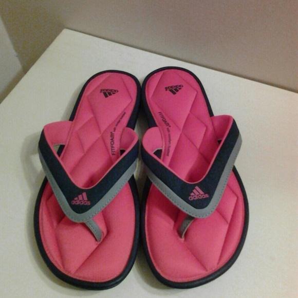 Noroeste esposa Incontable  adidas Shoes | Brand New Adidas Fit Foam Flip Flops | Poshmark