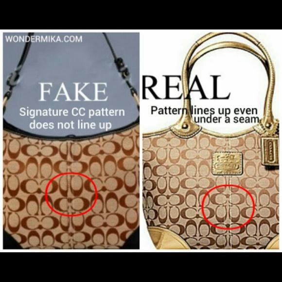 3426def716 Coach Buying Guide for Newbies eBay Coach Bags - Real Coach vs fake Coach  ...