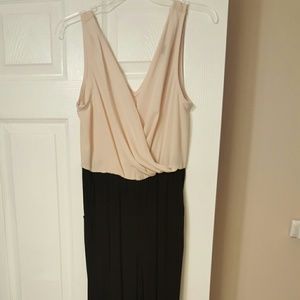 Forever 21 Other - Black and blush Jumpsuit w/ pockets.